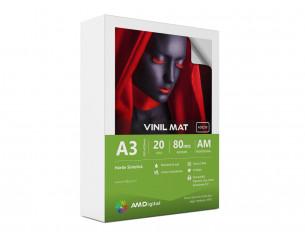 Vinil Adeziv Mat 80mic, A3,...